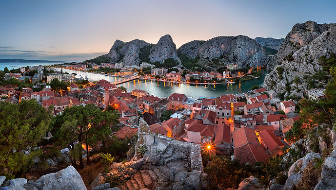 033-Aerial-View-of-Omis-Old-Town-and-Cet