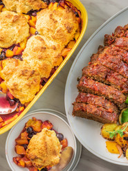 Convection Meal Italian Meatloaf