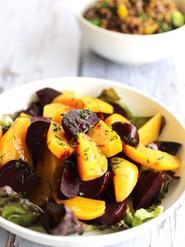 Golden & Red Beet Salad