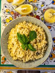 Lemon Basil Risotto