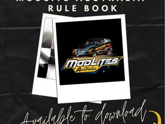 2021/2022 Modlites Australia Rule Book