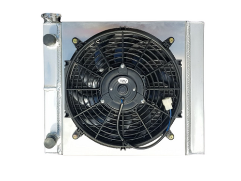 Radiator With Fan