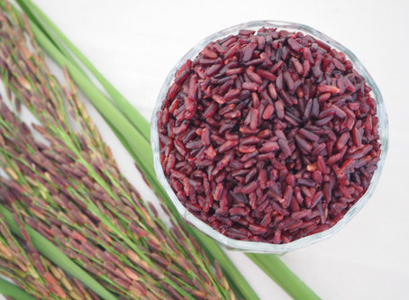 The SuperFood - Riceberry Rice Thailand's antioxidant- packed with  nutritional value