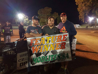 Danny Prade takes first feature win