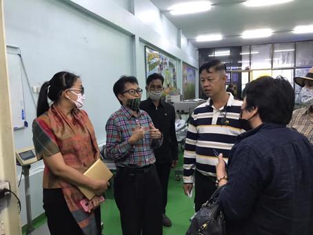 ลูกค้าจากประเทศจีนเข้าดูคุณภาพและมาตรฐานการผลิตข้าวหอมมะลิไทย เพื่อการนำเข้าประเทศจีน