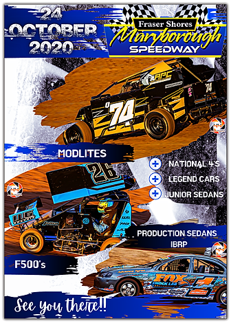 Maryborough Speedway - 24.10.2020 Final.