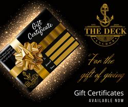 The Deck & Anchor Gift Certificatre  - FB Post
