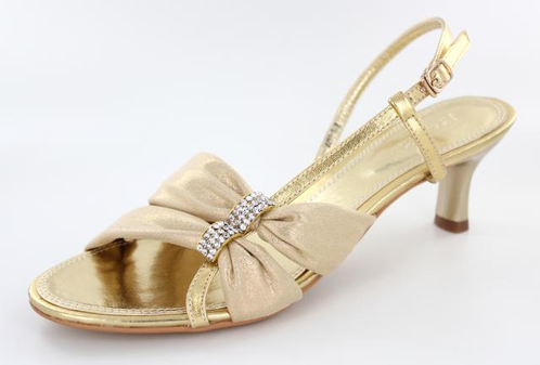 Short Gold Heels | FS-2091-1 | L&M Bling Fashion Jewelry and ...