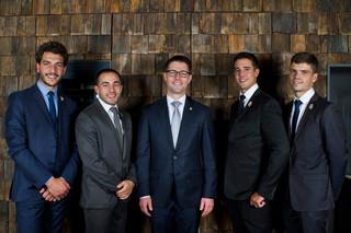 Sommeliers : Alexandre Morin, Yohan Nguyen, Mikael Grou, Vincent Cascio, Quentin Vauléon