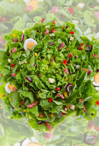 Salade et sa garniture-Joy Forgas Deplan
