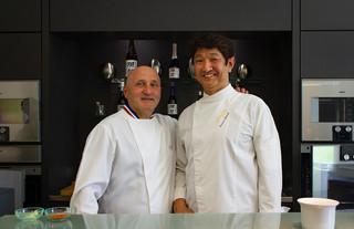 Chef Eric Bouchenoire et Chef Tomonori Danzaki