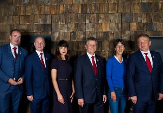 Jury Sommelier Award: Benjamin Roffet, Didier Bureau, Gabrielle Fourcade, Serge Dubs, Véronique Raisin, Jean Luc Jamrozik