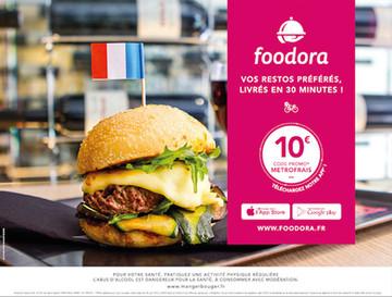 Campagne Publicitaire Foodora