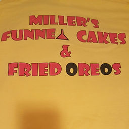 Millers Funnel Cakes and Fried Oreos Log
