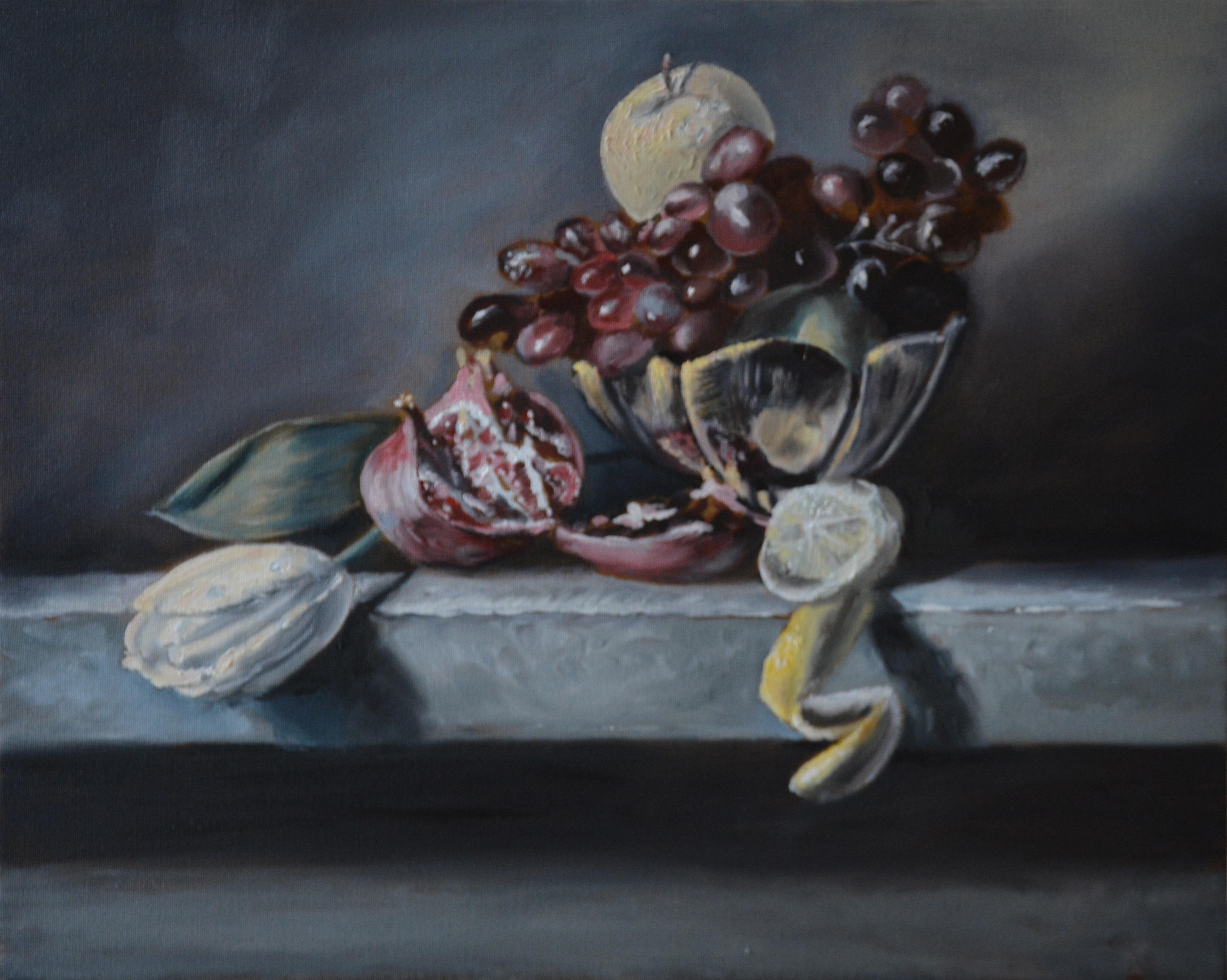 Натюрморт в стиле фламадских мастеров
