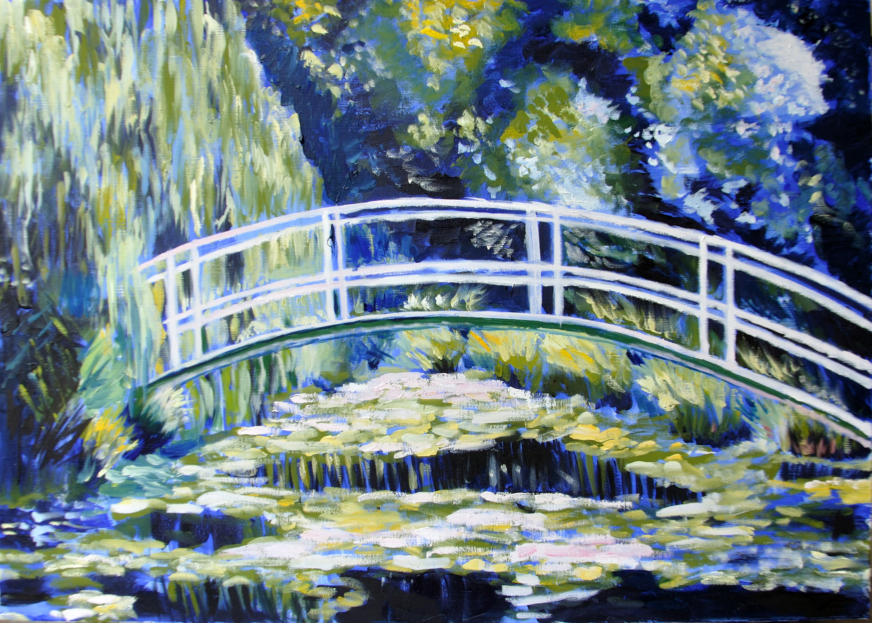 Monet_Japanese bridge