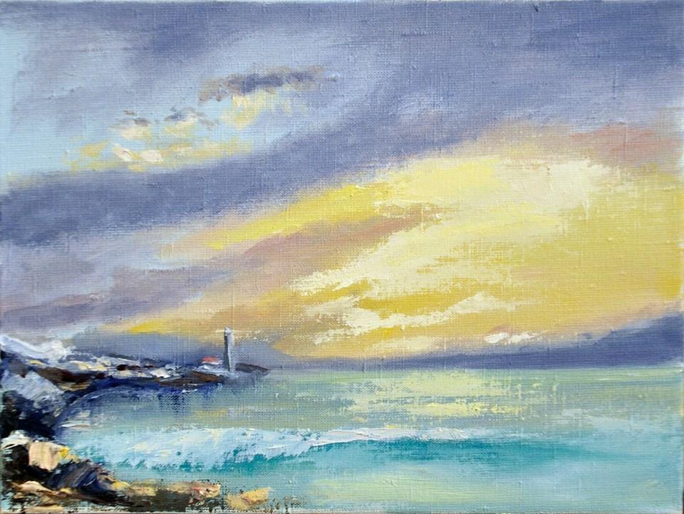 Бирюзовое море