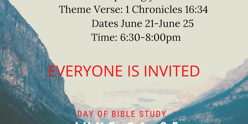 VIRTUAL VACATION BIBLE SCHOOL