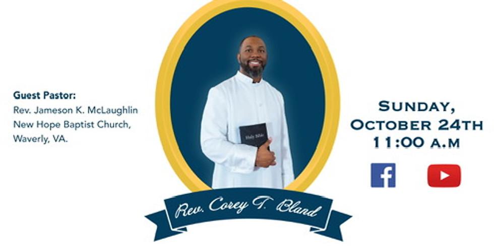 Pastor Appreciation Celebration With  Rev. Jameson K. McLaughlin
