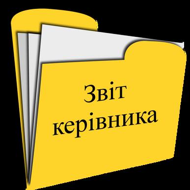 Звіт керівника закладу за 2019-2020 навчальний рік