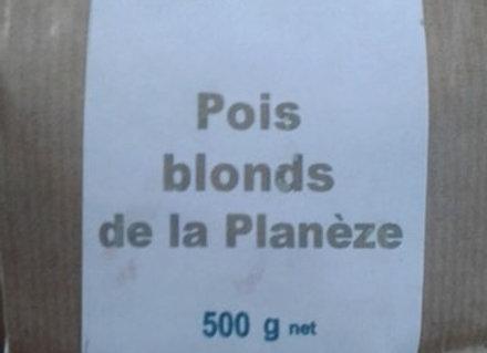 Pois blonds de la Planèze