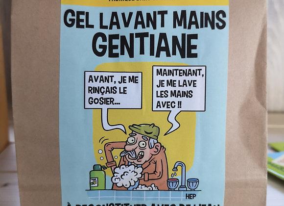 Kit Gel lavant mains senteur Gentiane