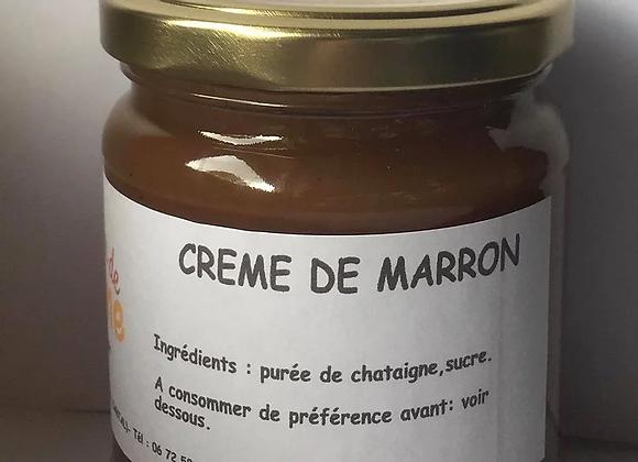 Crème de marrons 420g