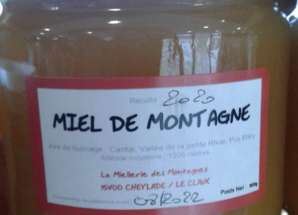 Pot de miel 500g - Le Claux