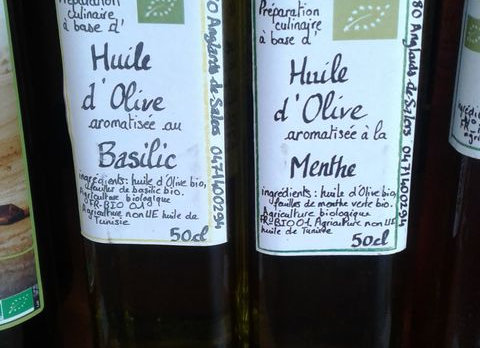 Huile Olive aromatisée 50cl