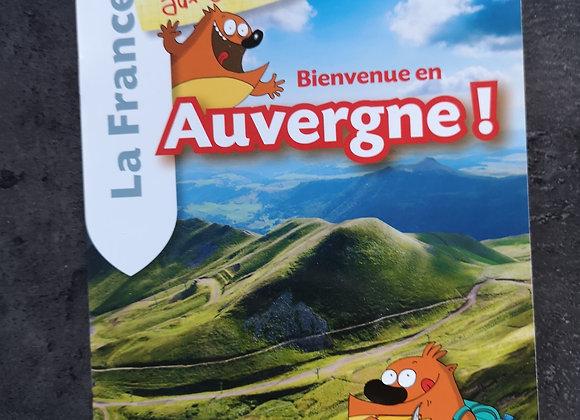 Livre : Bienvenue en Auvergne