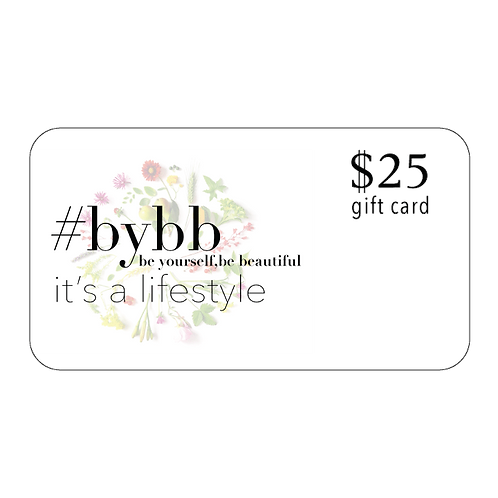 #BYBB $25 eGift Card