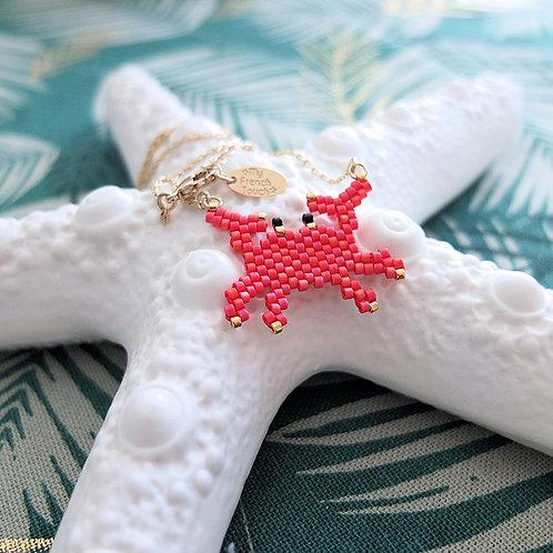 Collier crabe