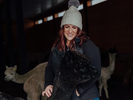 Twisted Sisters Alpaca Farm Brand Photos
