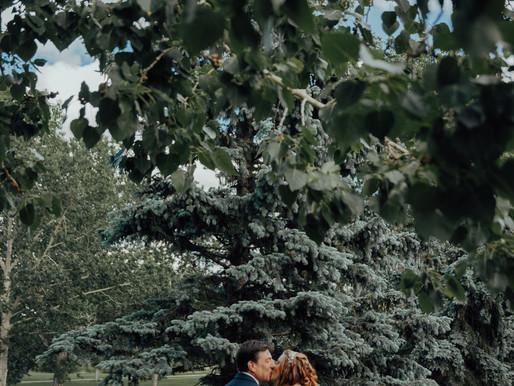 Sheila and Darrell Intimate Wedding   Edmonton Alberta