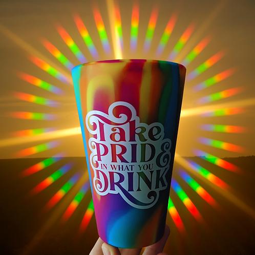 Take Pride Silipint 16oz Cup
