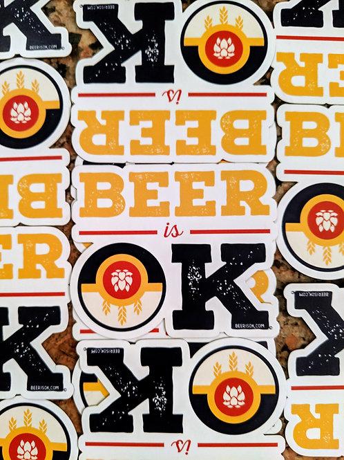 Beer is OK magnet