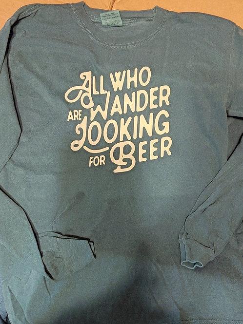 Wander for Beer Long Sleeve