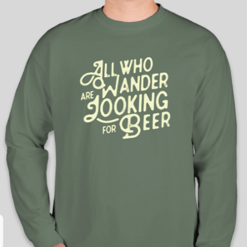 Wander for Beer Long Sleeve