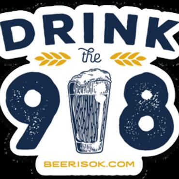 Drink the 918 Sticker