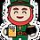 Thumbnail: Leprechaun Mascot Sticker