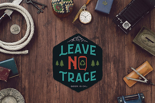Leave No Trace Sticker
