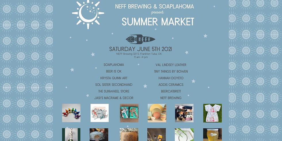 NEFF Brewing Summer Market