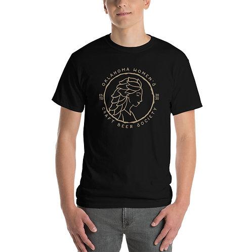 OK Women's Craft Beer Society: Men's Classic Cotton T-Shirt