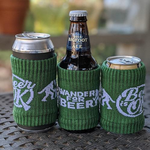 Wander for Beer Bigfoot Sock Koozie