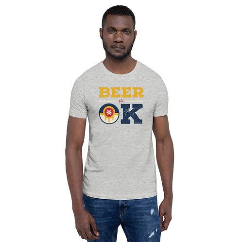 Beer is OK Craft Beer Flag Shirt