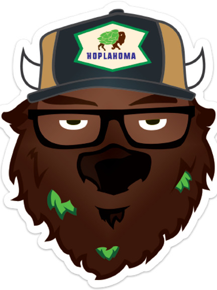 Hoppalo Brewer Sticker