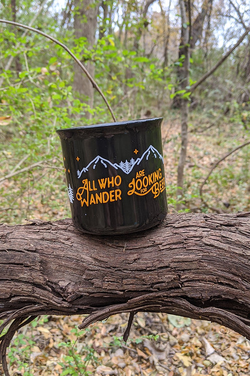 All Who Wander Ceramic Coffee Mug