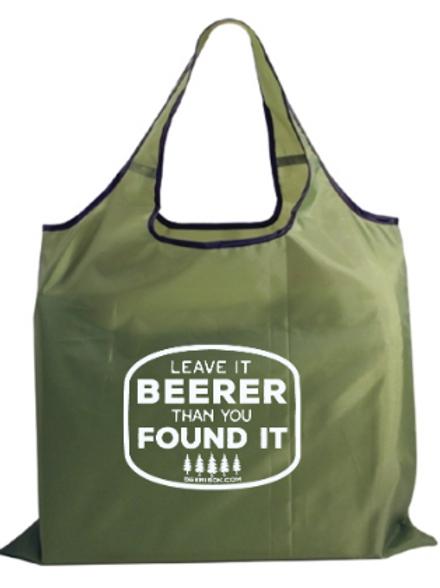 Leave it Beerer Fold Away Bag