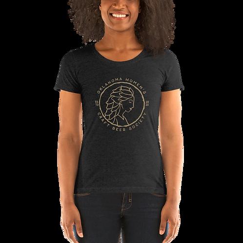 OK Women's Craft Beer Society Ladies' short sleeve t-shirt
