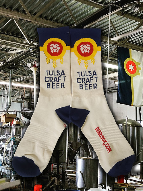 Beer Cycling Socks